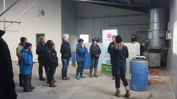 Dairying women get dairy automation demo