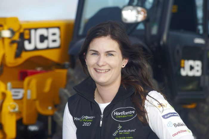 Bay of Plenty woman wins Young Grower of the Year